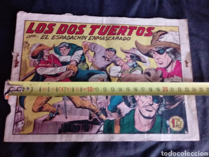 Tebeos: Los dos tuertos con El Espadachín Enmascarado. Original años 50. 1,25 Pts - Foto 9 - 145973024