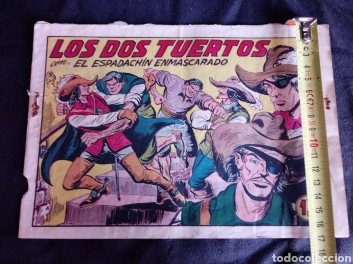 Tebeos: Los dos tuertos con El Espadachín Enmascarado. Original años 50. 1,25 Pts - Foto 10 - 145973024