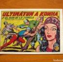 Tebeos: EL HIJO DE LA JUNGLA - Nº 12, ULTIMÁTUM A KONHA - EDITORIAL VALENCIANA 1956. Lote 145998818