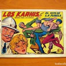 Tebeos: EL HIJO DE LA JUNGLA - Nº 14, LOS KARHIS - EDITORIAL VALENCIANA 1956. Lote 146000586