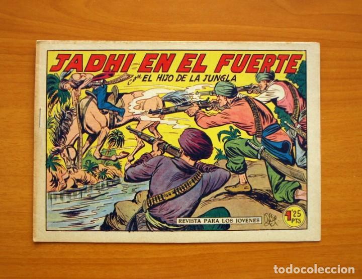 EL HIJO DE LA JUNGLA - Nº 15, JADHI EN EL FUERTE - EDITORIAL VALENCIANA 1956 - SIN ABRIR (Tebeos y Comics - Valenciana - Hijo de la Jungla)