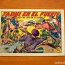 Tebeos: EL HIJO DE LA JUNGLA - Nº 15, JADHI EN EL FUERTE - EDITORIAL VALENCIANA 1956 . Lote 146001362