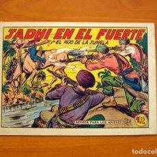 Tebeos - El Hijo de la Jungla - Nº 15, Jadhi en el Fuerte - Editorial Valenciana 1956 - 146001362