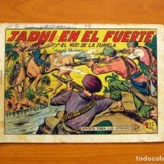 Tebeos - El Hijo de la Jungla - Nº 15, Jadhi en el Fuerte - Editorial Valenciana 1956 - 146001446