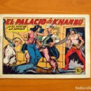 Tebeos: EL HIJO DE LA JUNGLA - Nº 19, EL PALACIO DE KHAMBU - EDITORIAL VALENCIANA 1956 - SIN ABRIR. Lote 146003194