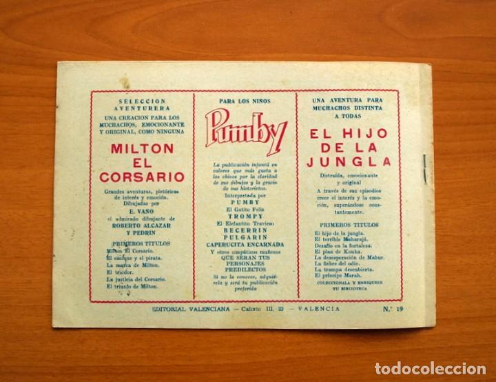 Tebeos: El Hijo de la Jungla - Nº 19, El Palacio de Khambu - Editorial Valenciana 1956 - Sin abrir - Foto 5 - 146003194