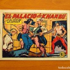 Tebeos: EL HIJO DE LA JUNGLA - Nº 19, EL PALACIO DE KHAMBU - EDITORIAL VALENCIANA 1956. Lote 146004166