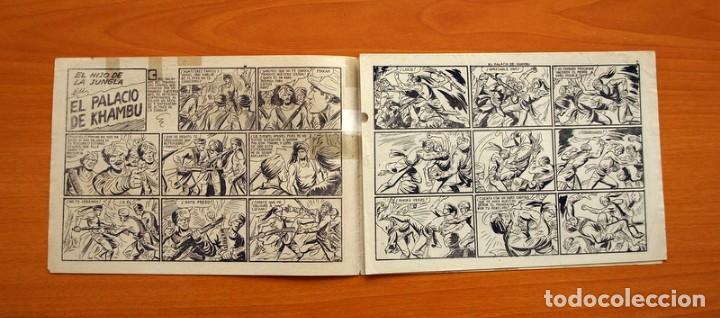 Tebeos: El Hijo de la Jungla - Nº 19, El Palacio de Khambu - Editorial Valenciana 1956 - Sin abrir - Foto 2 - 146004522