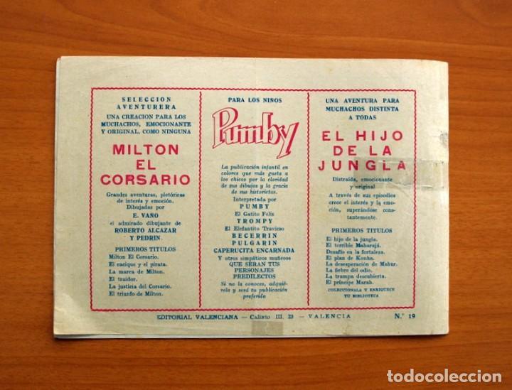 Tebeos: El Hijo de la Jungla - Nº 19, El Palacio de Khambu - Editorial Valenciana 1956 - Sin abrir - Foto 5 - 146004522