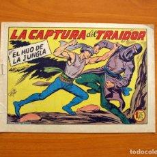 Tebeos: EL HIJO DE LA JUNGLA - Nº 23, LA CAPTURA DEL TRAIDOR - EDITORIAL VALENCIANA 1956 . Lote 146004906