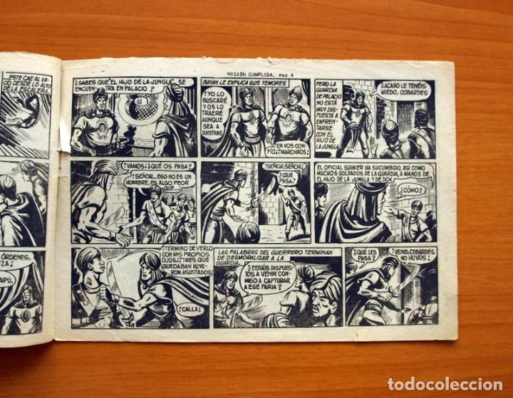 Tebeos: El Hijo de la Jungla - Nº 61, Misión cumplida - Editorial Valenciana 1956 - Foto 3 - 146007834