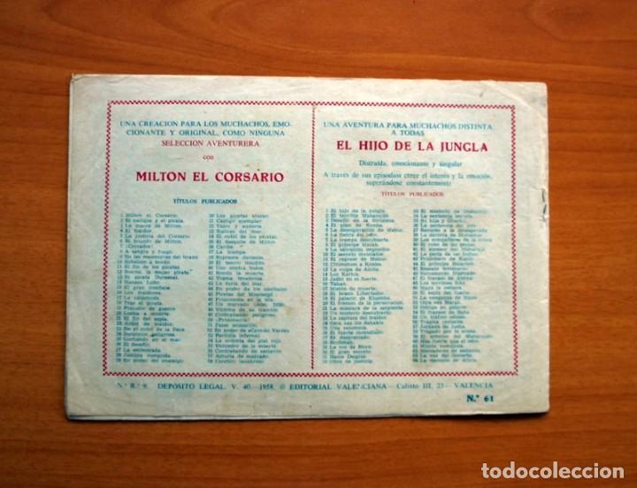 Tebeos: El Hijo de la Jungla - Nº 61, Misión cumplida - Editorial Valenciana 1956 - Foto 7 - 146007834