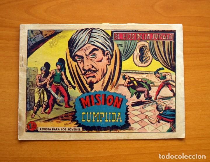 EL HIJO DE LA JUNGLA - Nº 61, MISIÓN CUMPLIDA - EDITORIAL VALENCIANA 1956 (Tebeos y Comics - Valenciana - Hijo de la Jungla)