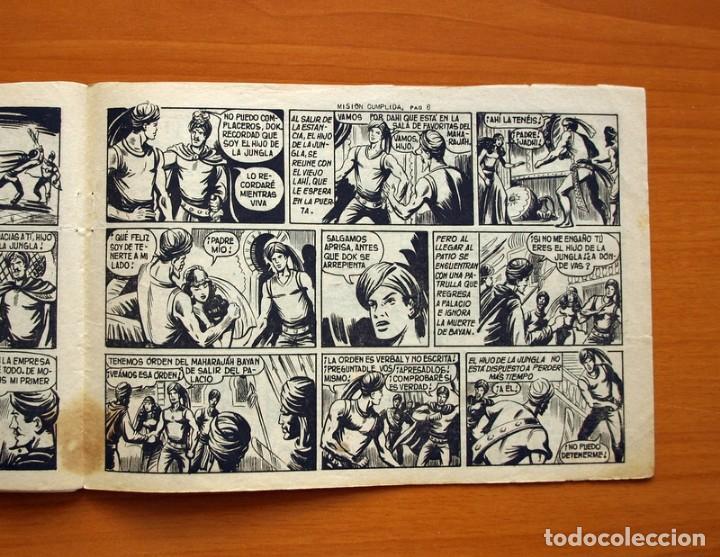 Tebeos: El Hijo de la Jungla - Nº 61, Misión cumplida - Editorial Valenciana 1956 - Foto 5 - 146007998