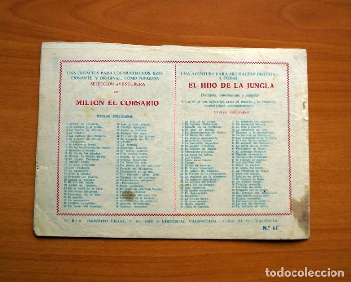 Tebeos: El Hijo de la Jungla - Nº 61, Misión cumplida - Editorial Valenciana 1956 - Foto 7 - 146007998