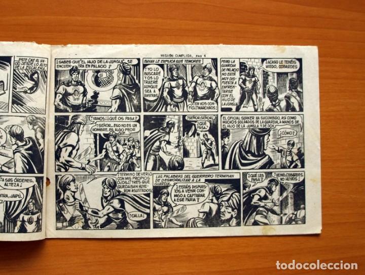 Tebeos: El Hijo de la Jungla - Nº 61, Misión cumplida - Editorial Valenciana 1956 - Foto 3 - 146008342