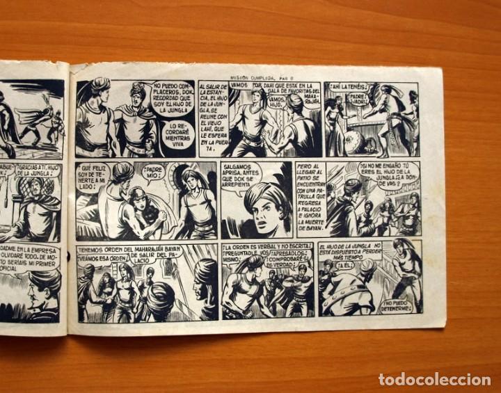 Tebeos: El Hijo de la Jungla - Nº 61, Misión cumplida - Editorial Valenciana 1956 - Foto 5 - 146008342
