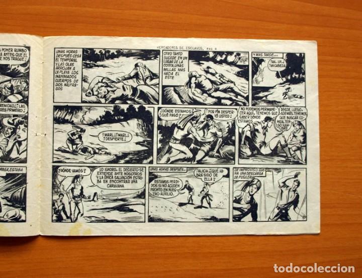Tebeos: El Hijo de la Jungla - Nº 62, Mercaderes de Esclavos - Editorial Valenciana 1956 - Foto 3 - 146059098