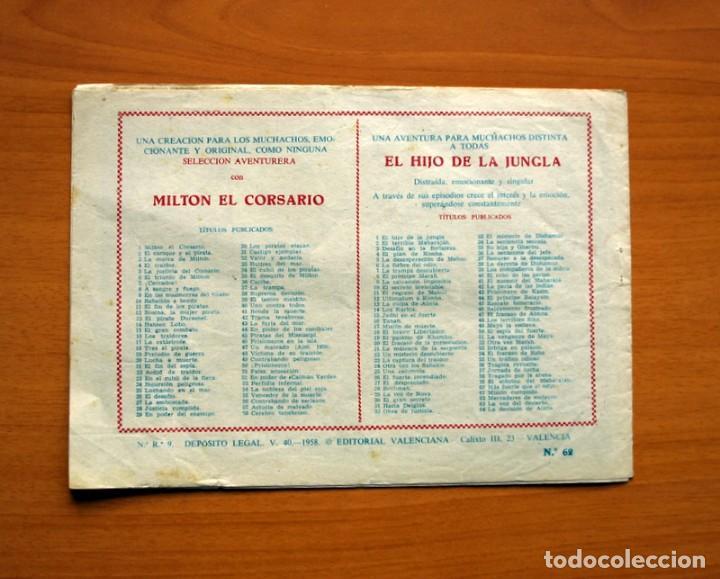Tebeos: El Hijo de la Jungla - Nº 62, Mercaderes de Esclavos - Editorial Valenciana 1956 - Foto 7 - 146059098