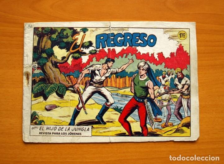 EL HIJO DE LA JUNGLA - Nº 72, EL REGRESO - EDITORIAL VALENCIANA 1956 (Tebeos y Comics - Valenciana - Hijo de la Jungla)