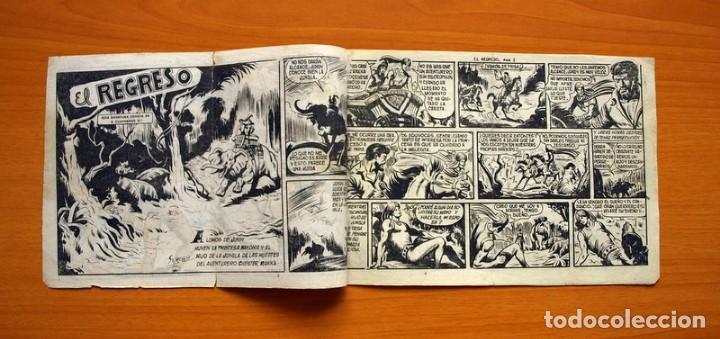 Tebeos: El Hijo de la Jungla - Nº 72, El regreso - Editorial Valenciana 1956 - Foto 2 - 146059158