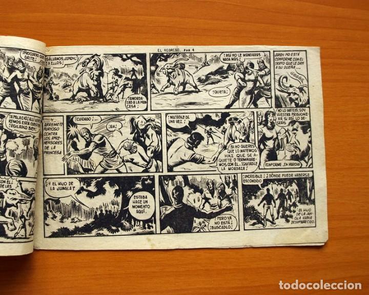 Tebeos: El Hijo de la Jungla - Nº 72, El regreso - Editorial Valenciana 1956 - Foto 3 - 146059158