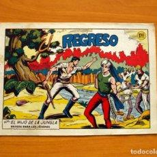 Tebeos: EL HIJO DE LA JUNGLA - Nº 72, EL REGRESO - EDITORIAL VALENCIANA 1956. Lote 146059402