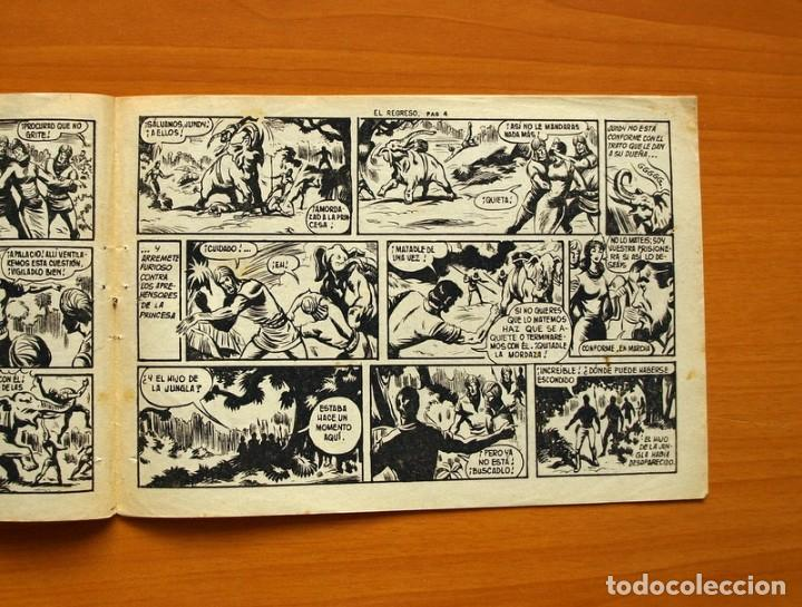 Tebeos: El Hijo de la Jungla - Nº 72, El regreso - Editorial Valenciana 1956 - Foto 3 - 146059402