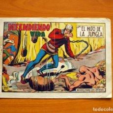 Tebeos: EL HIJO DE LA JUNGLA - Nº 82, DEFENDIENDO LA VIDA - EDITORIAL VALENCIANA 1956. Lote 146059554