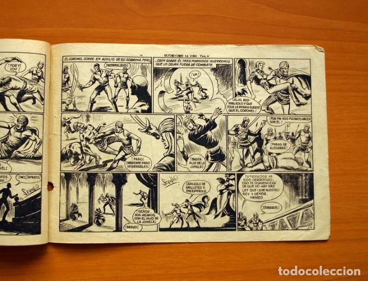 Tebeos: El Hijo de la Jungla - Nº 82, Defendiendo la vida - Editorial Valenciana 1956 - Foto 3 - 146059554