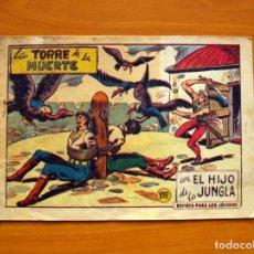 Tebeos: EL HIJO DE LA JUNGLA - Nº 84, LA TORRE DE LA MUERTE - EDITORIAL VALENCIANA 1956. Lote 146059770