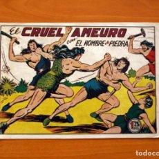 Tebeos: EL HOMBRE DE PIEDRA, Nº 40, EL CRUEL AMEURO - EDITORIAL VALENCIANA 1950. Lote 146345354