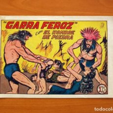 Tebeos: EL HOMBRE DE PIEDRA, Nº 126, GARRA FEROZ - EDITORIAL VALENCIANA 1950 - SI ABRIR. Lote 146345774