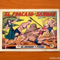 Tebeos: EL HOMBRE DE PIEDRA, Nº 132, EL FRACASO DE SANDAR - EDITORIAL VALENCIANA 1950 - SI ABRIR. Lote 146346026