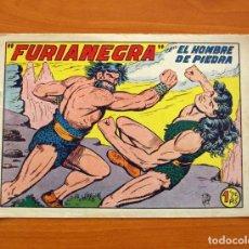 Tebeos: EL HOMBRE DE PIEDRA, Nº 140, FURIANEGRA - EDITORIAL VALENCIANA 1950. Lote 146346322
