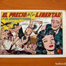 Tebeos: EL HOMBRE DE PIEDRA, Nº 161, EL PRECIO DE LA LIBERTAD - EDITORIAL VALENCIANA 1950 . Lote 146349550