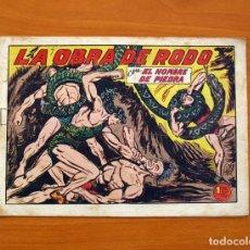 Tebeos: EL HOMBRE DE PIEDRA, Nº 162, LA OBRA DE RODO - EDITORIAL VALENCIANA 1950 . Lote 146350090