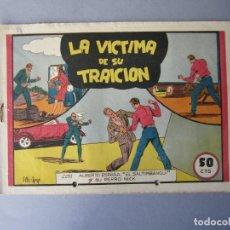 Tebeos: ALBERTO ESPAÑA (1944, VALENCIANA) 5 · 1944 · LA VICTIMA DE SU TRAICION. Lote 146383970