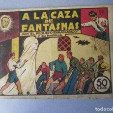 Tebeos: PANDILLA DE LOS SIETE, LA (1945, VALENCIANA) -EL PEQUEÑO ENMASCARADO- 2 · 1945 · A LA CAZA DE FANTAS. Lote 146388770