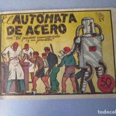 BDs: PANDILLA DE LOS SIETE, LA (1945, VALENCIANA) -EL PEQUEÑO ENMASCARADO- 8 · 1945 · EL AUTOMATA DE ACER. Lote 146391558