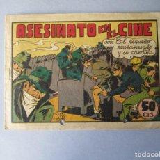 Tebeos: PANDILLA DE LOS SIETE, LA (1945, VALENCIANA) -EL PEQUEÑO ENMASCARADO- 14 · 1945 · ASESINATO EN EL CI. Lote 146392214