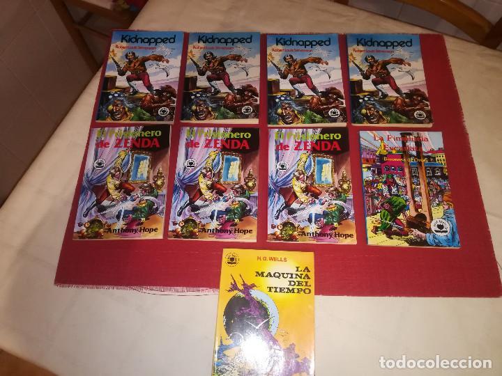 LIBROS GRAFICOS - EDITORA VALENCIANA - LOTE 9 EJEMPLARES - NUEVOS - AÑO 1982 (Tebeos y Comics - Valenciana - Otros)
