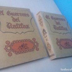 Tebeos: EDITORIAL VALENCIANA ORIGINAL EL GUERRERO DEL ANTIFAZ TOMO Nº1 Y TOMO Nº2 . Lote 146473522