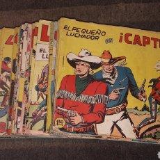 Tebeos: LOTE 102 COMICS EL PEQUEÑO LUCHADOR VALENCIANA 1961 1962 Y 1963 ORIGINALES EN BUEN ESTADO 4 € UNIDAD. Lote 146578398