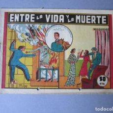 Tebeos: ALBERTO ESPAÑA (1944, VALENCIANA) 6 · 1944 · ENTRE LA VIDA Y LA MUERTE. Lote 146668958