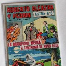 Tebeos: ROBERTO ALCAZAR Y PEDRIN, EXTRA 6. 2 HISTORIAS COMPLETAS. A COLOR. Lote 146921142
