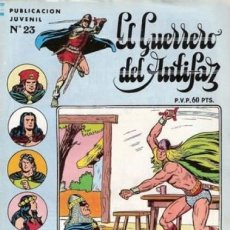 Tebeos: EL GUERRERO DEL ANTIFAZ. SERIE INEDITA EDITORIAL VALENCIANA Nº 23. Lote 147041202
