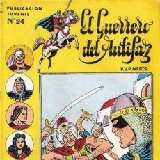Tebeos: EL GUERRERO DEL ANTIFAZ. SERIE INEDITA EDITORIAL VALENCIANA Nº 24. Lote 147041274