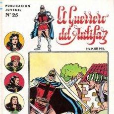 Tebeos: EL GUERRERO DEL ANTIFAZ. SERIE INEDITA EDITORIAL VALENCIANA Nº 25. Lote 147041354