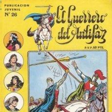 Tebeos: EL GUERRERO DEL ANTIFAZ. SERIE INEDITA EDITORIAL VALENCIANA Nº 26. Lote 147041386